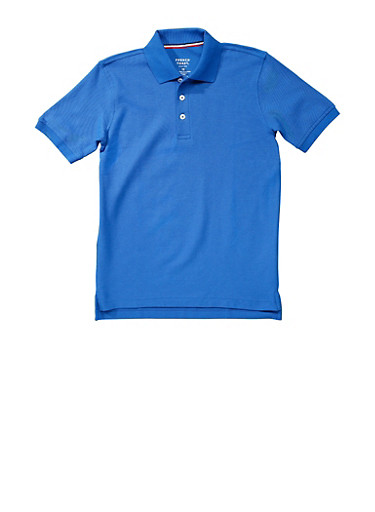 Boys 4-7 Short Sleeve Pique Polo School Uniform | Tuggl
