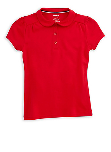 Girls 7-16 Short Sleeve Polo Shirt School Uniform | Tuggl