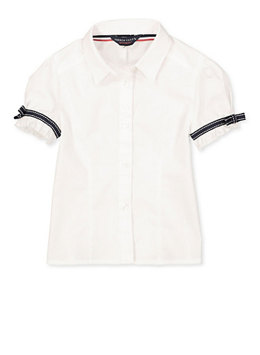 Girls School Polo Shirts..made To Order..all Sizes