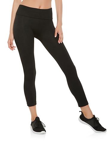 Pintuck Leggings,BLACK,large
