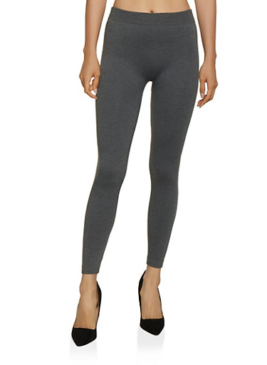 French Terry Lined Leggings | 7069041453122,CHARCOAL,large