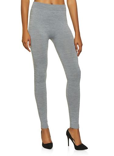 Fleece Lined Leggings | 7069041455551,HEATHER,large