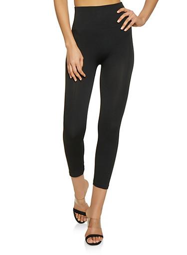 Basic Pintuck Leggings,BLACK,large