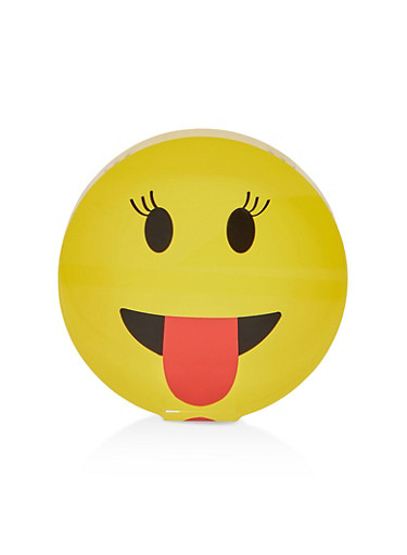 Emoji Paper Weight,YELLOW,large