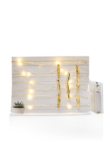 Photo Clip String Lights,GOLD,large