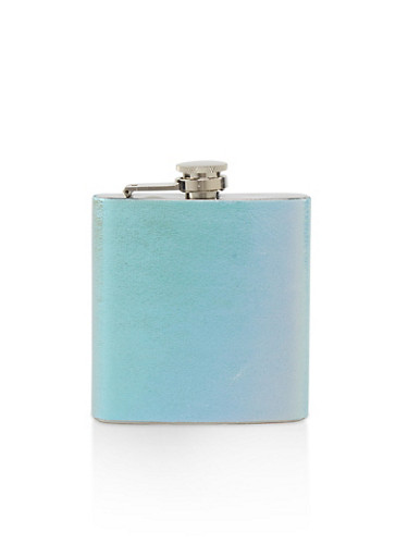 Iridescent Flask,MULTI COLOR,large