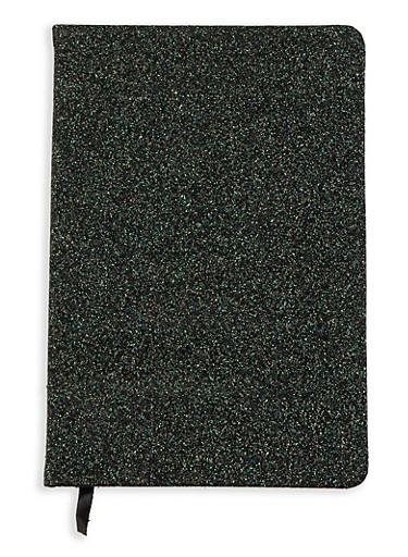 Black Glitter Journal,BLACK,large