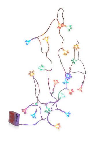 Flower LED String Lights,MULTI COLOR,large