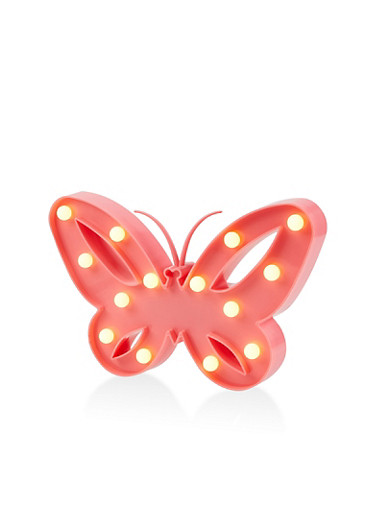 Butterfly Marquee Light Box,PINK,large
