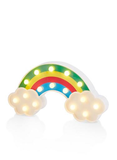 Rainbow Marquee Light Box,MULTI COLOR,large