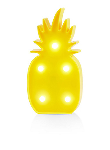 Pineapple Marquee Light Box,YELLOW,large