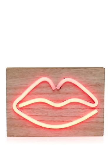 Lip Neon Light,RED,large