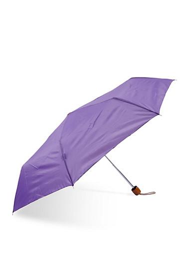 Compact Umbrella,PURPLE,large