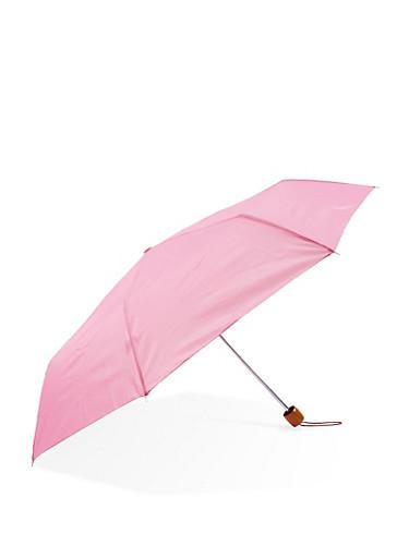 Compact Umbrella,FUCHSIA,large