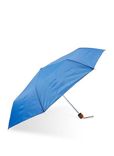 Compact Umbrella,BLUE,large