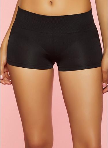 Shapewear Shorts,BLACK,large