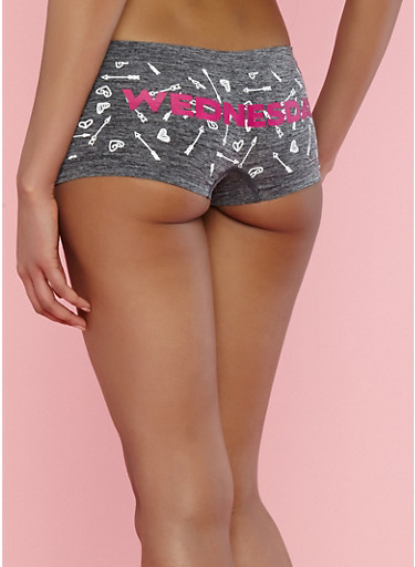 Day of the Week Arrows Boyshort Panties at Rainbow Shops in Jacksonville, FL | Tuggl
