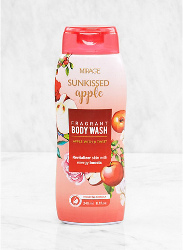 Sunkissed Apple Fragrant Body Wash,CLEAR,large