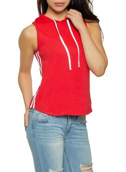 Varsity Stripe Hooded Top   0011054260917 - 0011054260917