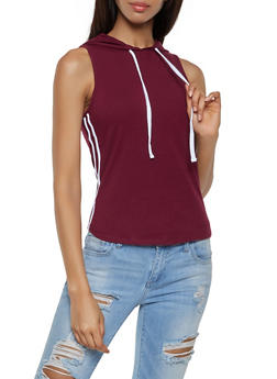 Varsity Stripe Hooded Top | 0011054260917 - 0011054260917