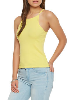 Ribbed Knit Cami - 0012054269319