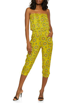 Strapless Printed Jumpsuit | 0045038344230 - 0045038344230