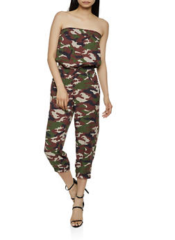 Printed Tube Jumpsuit | 0045038345320 - 0045038345320