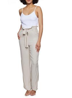 Paper Bag Waist Jumpsuit | 0045051061276 - 0045051061276