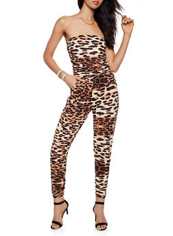 Leopard Tube Jumpsuit | 0045074281182 - 0045074281182