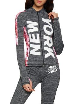 New York Color Block Activewear Sweatshirt - 0058038345630