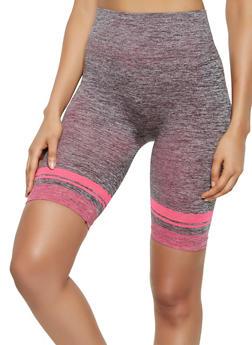Marled Bike Shorts - 0058038347811