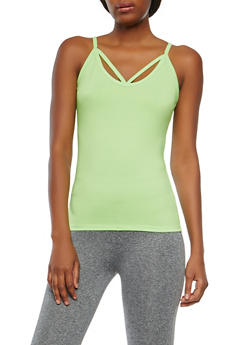 Caged Detail Active Cami - 0058054269263