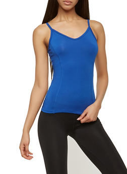 Caged Back Activewear Tank Top - 0058054269269