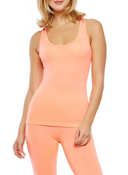 Criss Cross Back Activewear Cami - 0058054269280