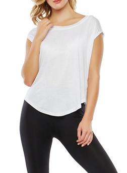 Mesh Back Activewear Top - 0058054269293