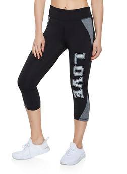 Love Cropped Active Leggings - 0058062702840