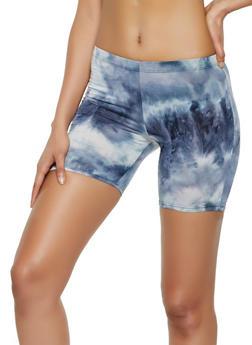 Tie Dye Bike Shorts   0060074010058 - 0060074010058
