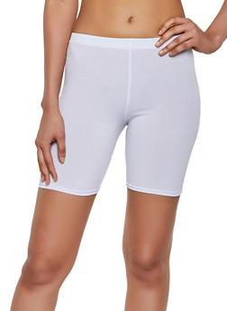 Solid Bike Shorts - 0060074010059