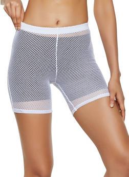 Fishnet Bike Shorts | 0060074010065 - 0060074010065