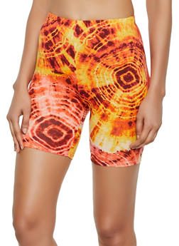 Tie Dye Bike Shorts - 0060074015034