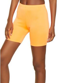 Neon Knit Bike Shorts - 0060074015968