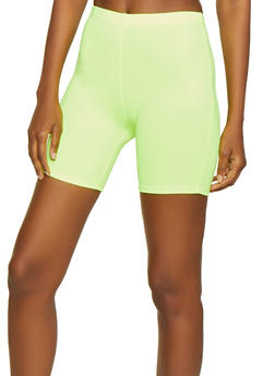 Neon Knit Bike Shorts - 0060074015968