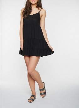 Tiered Slip Dress - 0090054269959