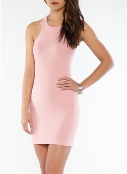 Soft Knit Racerback Tank Dress - 0094038348802