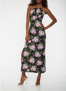 Floral Maxi Dress - 0094038348898