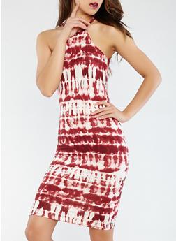 Tie Dye Tank Dress - 0094038348944
