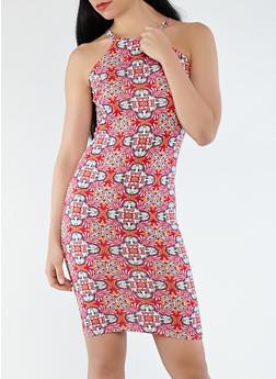 Printed Tank Dress - 0094038348949