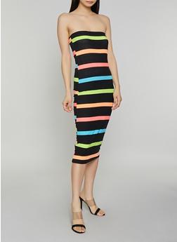 Striped Tube Dress | 0094038349083 - 0094038349083