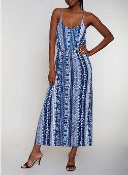 Tie Dye Cami Maxi Dress   0094038349681 - 0094038349681