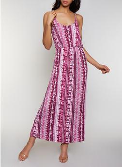 Tie Dye Cami Maxi Dress | 0094038349681 - 0094038349681